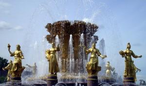 ВДНХ золотой фонтан
